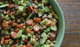Church, Panic, and Celebrating Summer with a Three Bean Salad