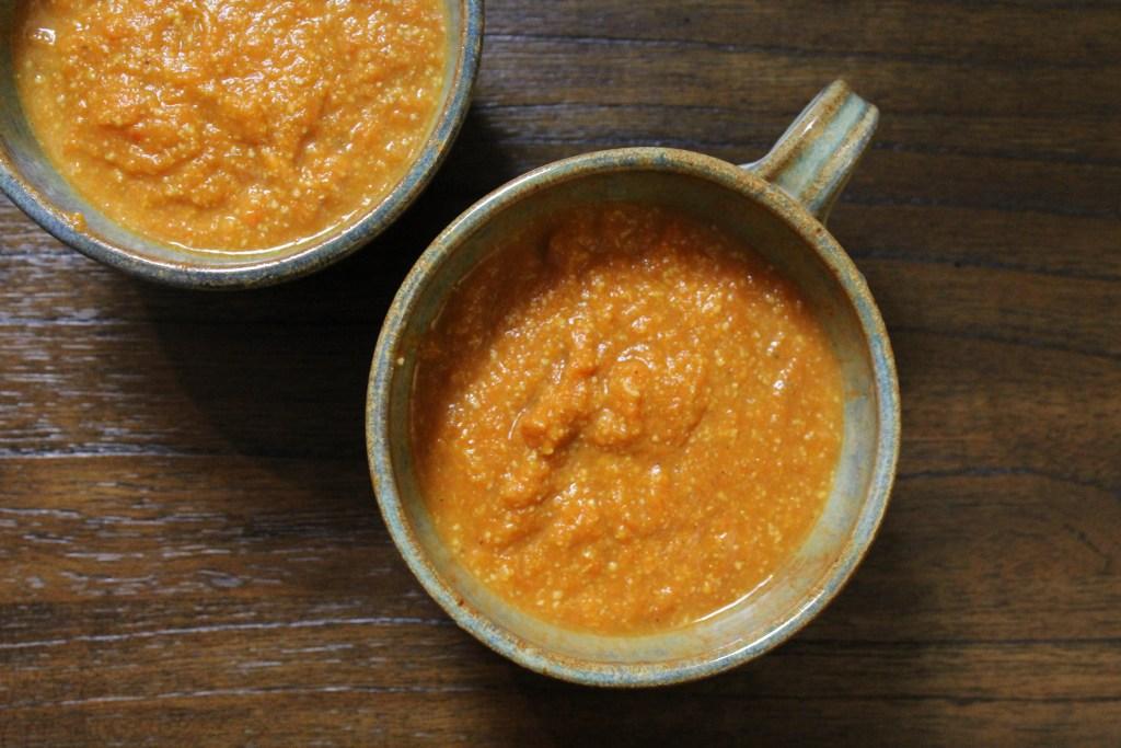 Golden Thai Carrot Soup