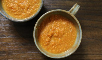Golden Thai Carrot Soup