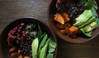 Committed to This Tangy Cranberry Veggie Bowl