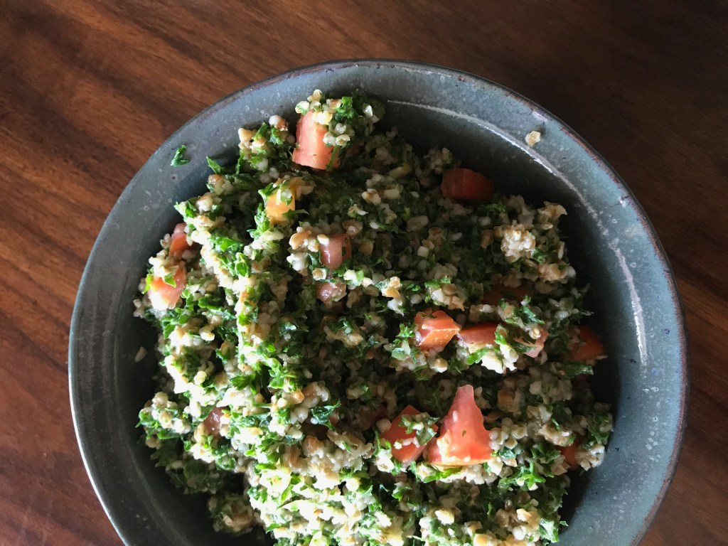 Vegan Doesn't Count as Food Tabouli