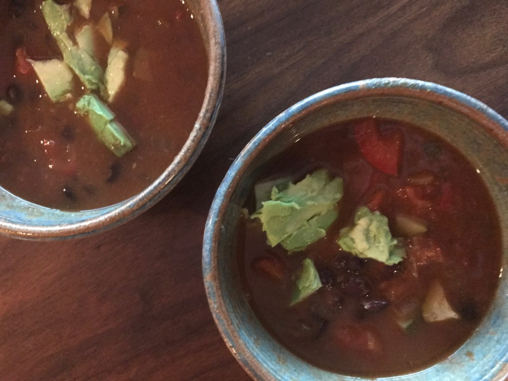Lost Over Black Bean Soup