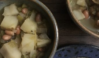 New Mexican Vegan Green Chili Stew