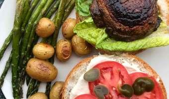 Precious, Luxurious, Mushroom Burgers