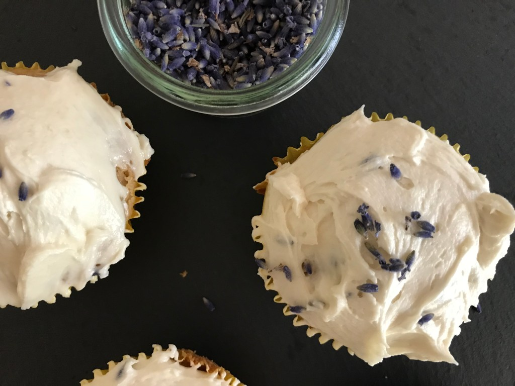 38 and Childless with Lemon Lavender Cupcakes