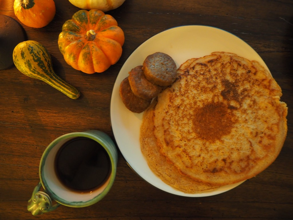 Sunday Morning Pancake Breakfast (No Sugar and Vegan)