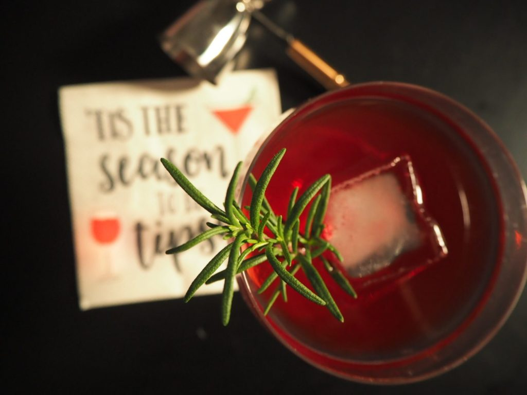 Rosemary Elderflower Cocktail Goals