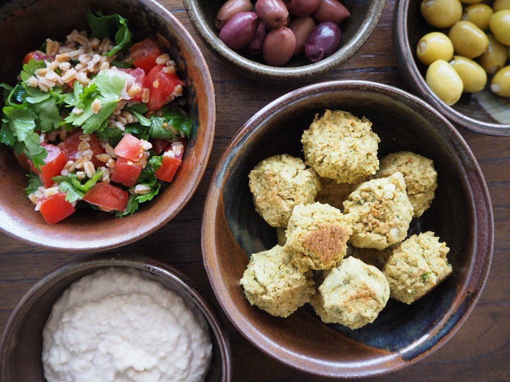 Baked Vegan Falafel + How to Survive Finances as a Married Couple