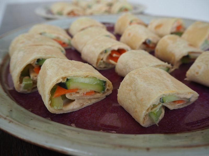 Buffalo Veggie Roll-ups for Entrepreneurs