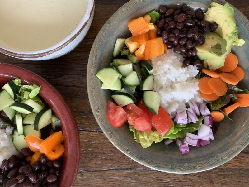 Brain Health, Meditation, and Black Bean Salads