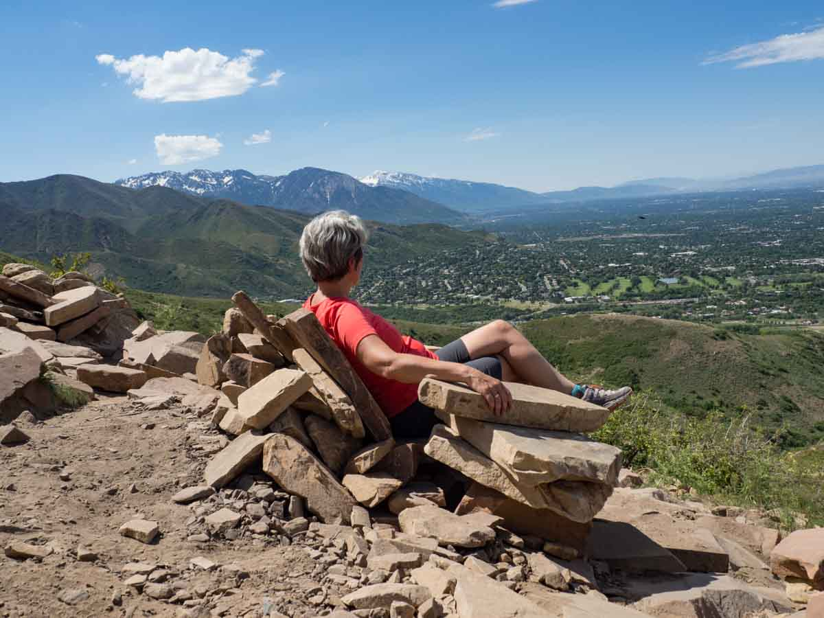 Get Great Hikes In Salt Lake City By Walking Right Out Of The And Directly Into Nature Trails Living Room