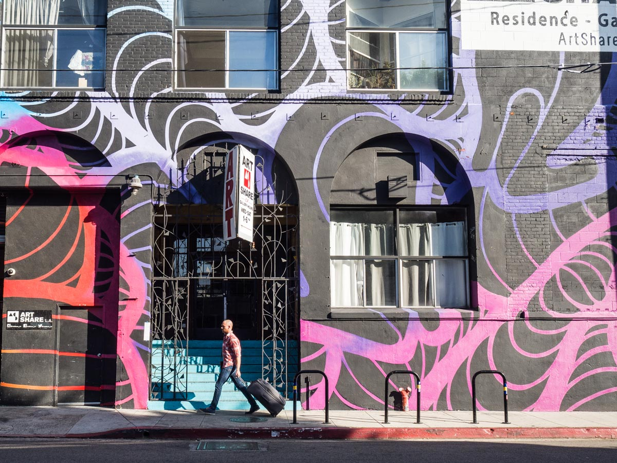 Art Share in the Los Angeles Arts District