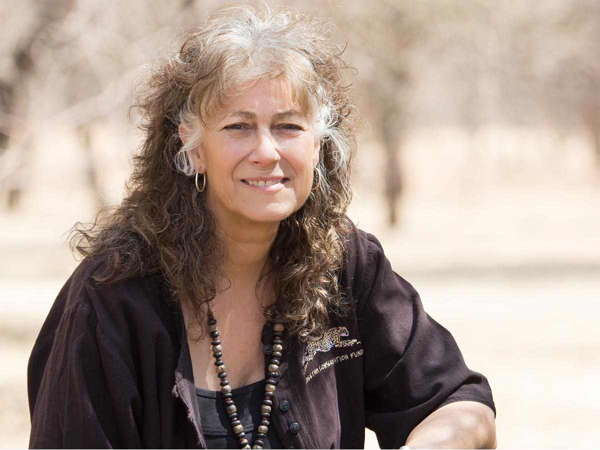 Dr Laurie Marker Cheetah Conservation Fund