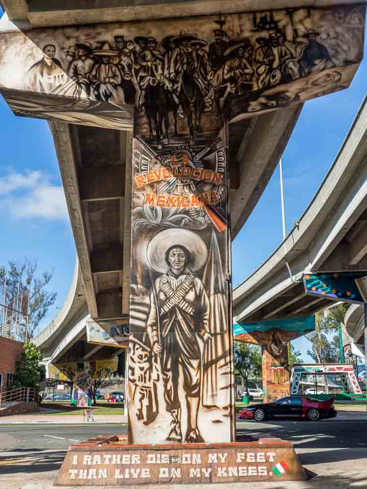 Chicano Park Street Art Emiliano Zapata
