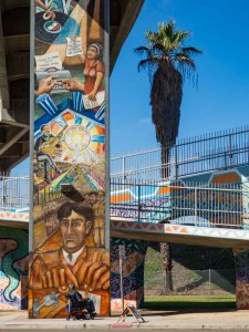 Murals in San Diego Hunger Strike