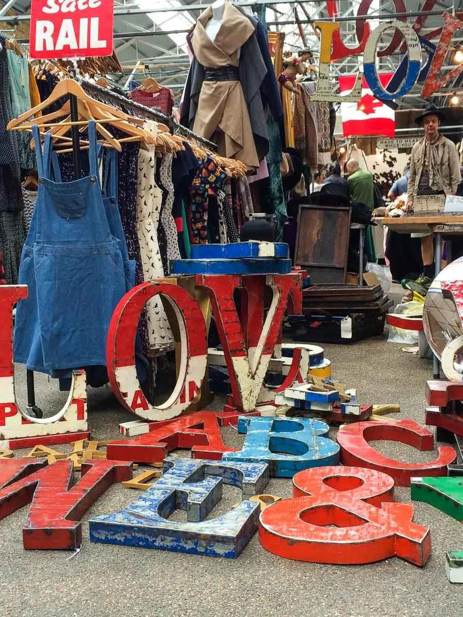 Spitalfields Market LOVE