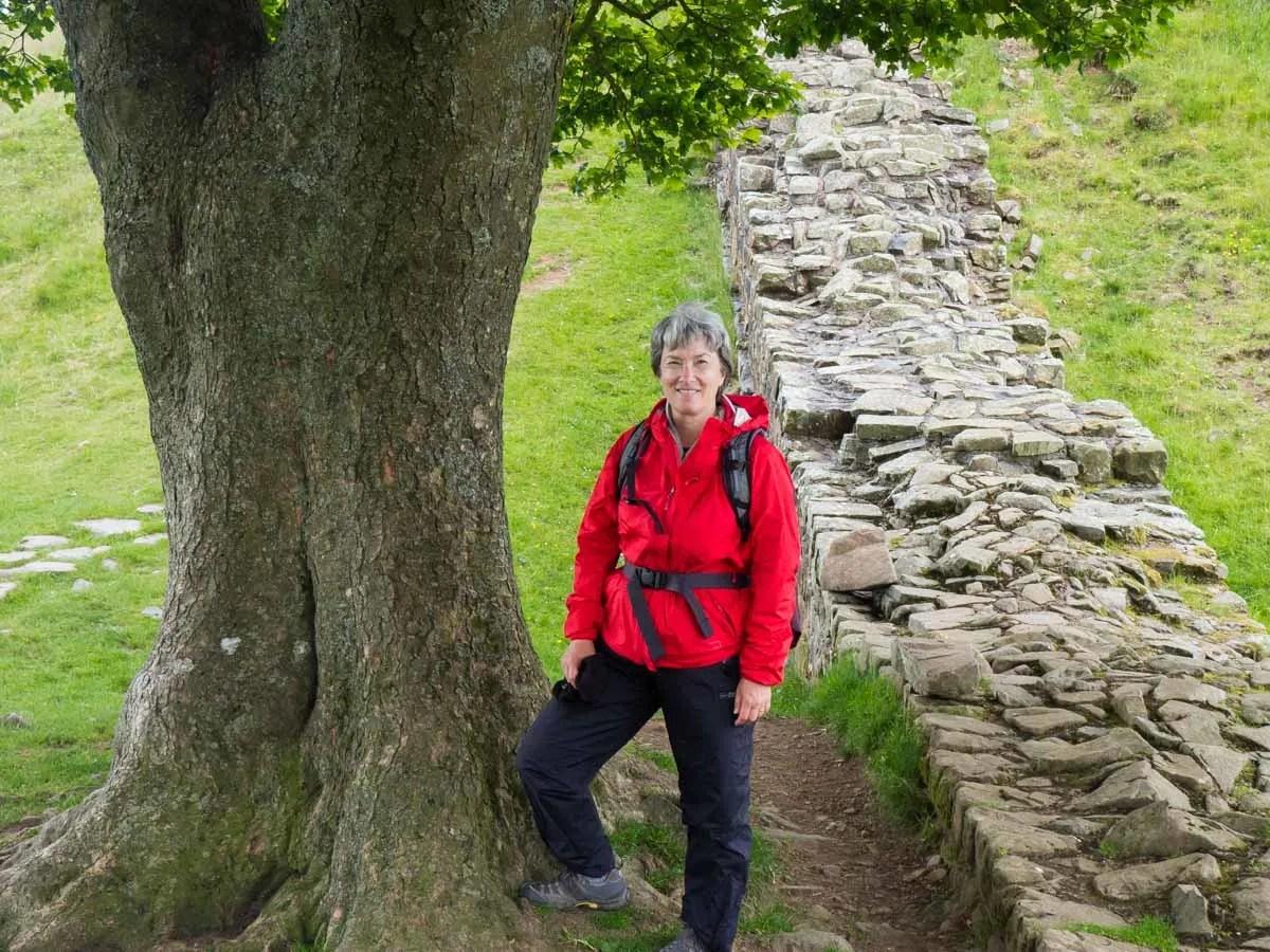 UK Hiking Hadrian's Wall Path Carol Guttery