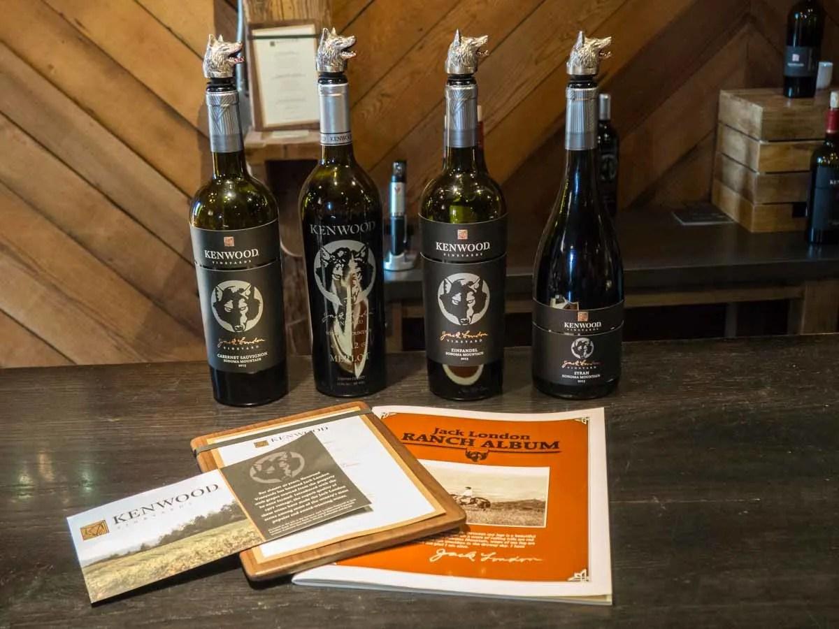 Jack London in California's Kenwood Winery