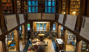 Surrounded by Literature in Wales: Gladstone's Library and Hay on Wye Bookshops