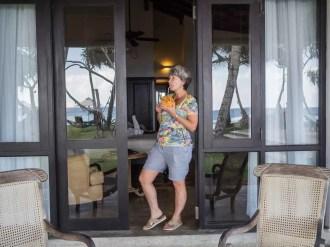 Mosvold Villa Drinking a Coconut