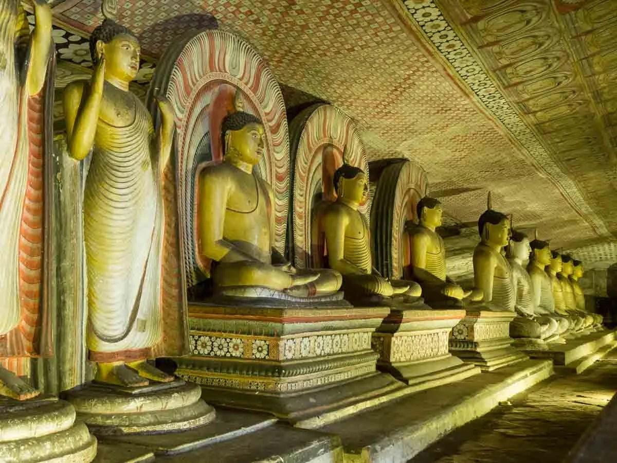 Sri Lanka Points of Interest Dambulla Caves