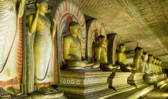 Dambulla Caves Cave of Kings Sri Lanka
