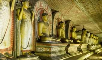 Dambulla Caves Cave of Kings Sri Lanka