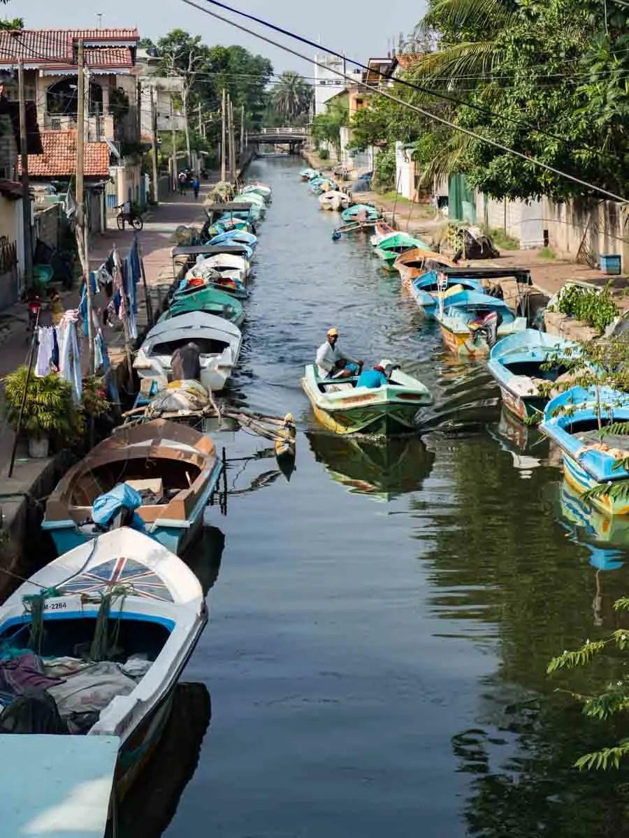 Dutch Canals Negombo Sri Lanka