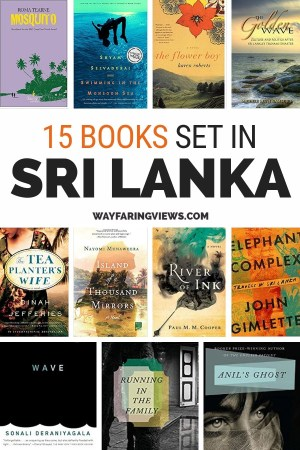 15 Books set in Sri Lanka and books on Sri Lanka