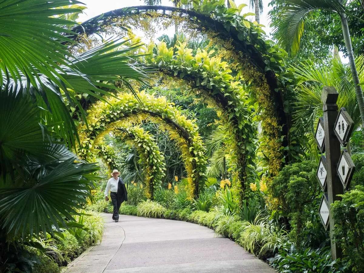 Itinerary for Singapore nature- Botanical Garden