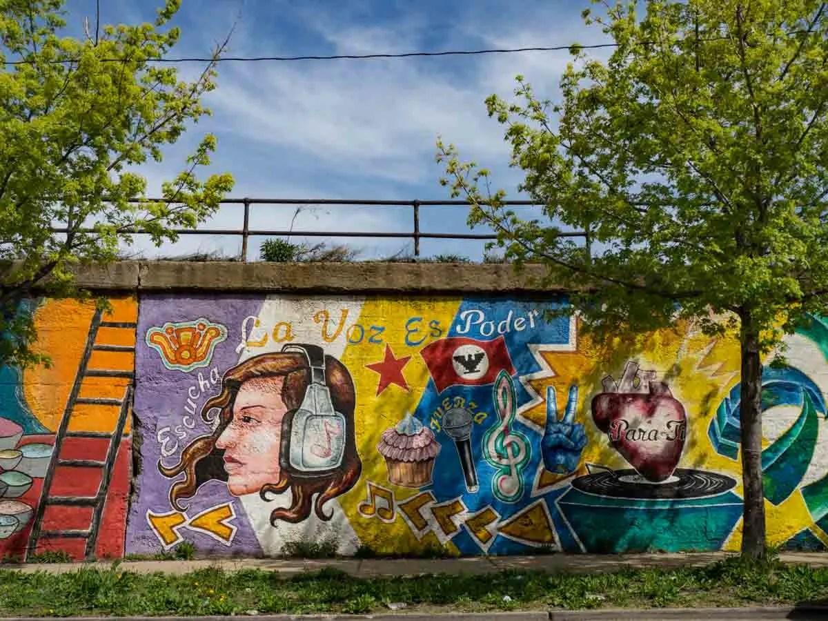 La Voz Mexican street art Pilsen Chicago