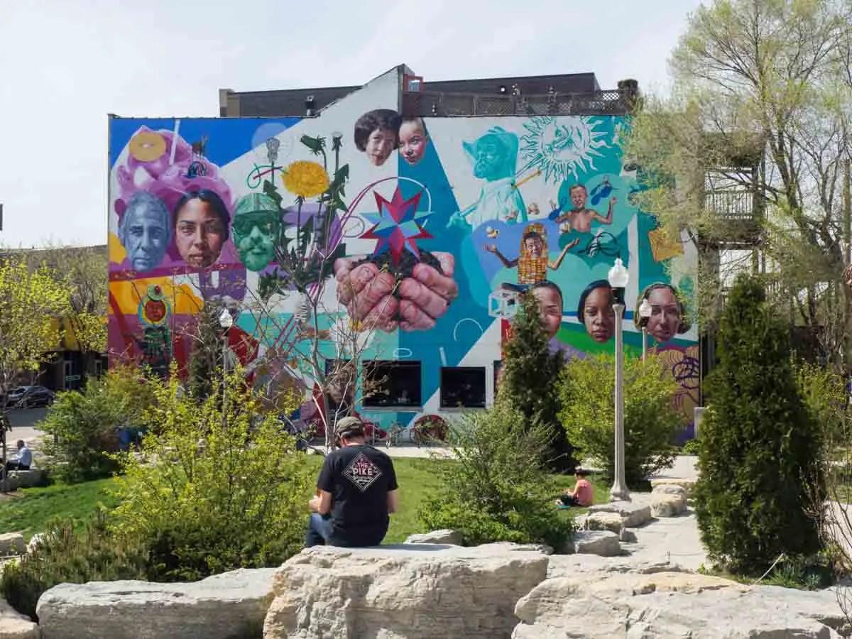 Park 567 Wicker Park Chicago street art