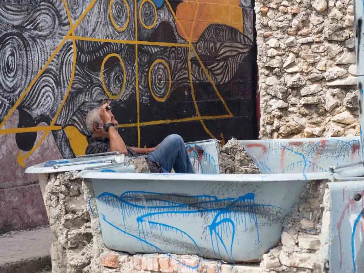Havana Callejon de Hamel artist Salvadore Gonzalez