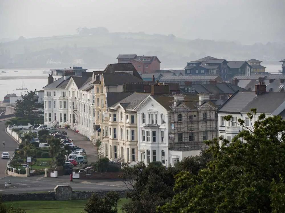 England Exmouth view