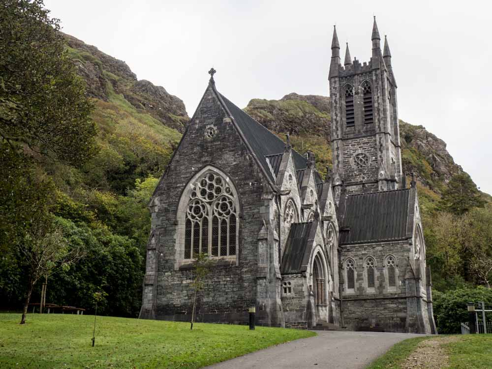 Ireland Connemara Region Kylemore Abbey chapel