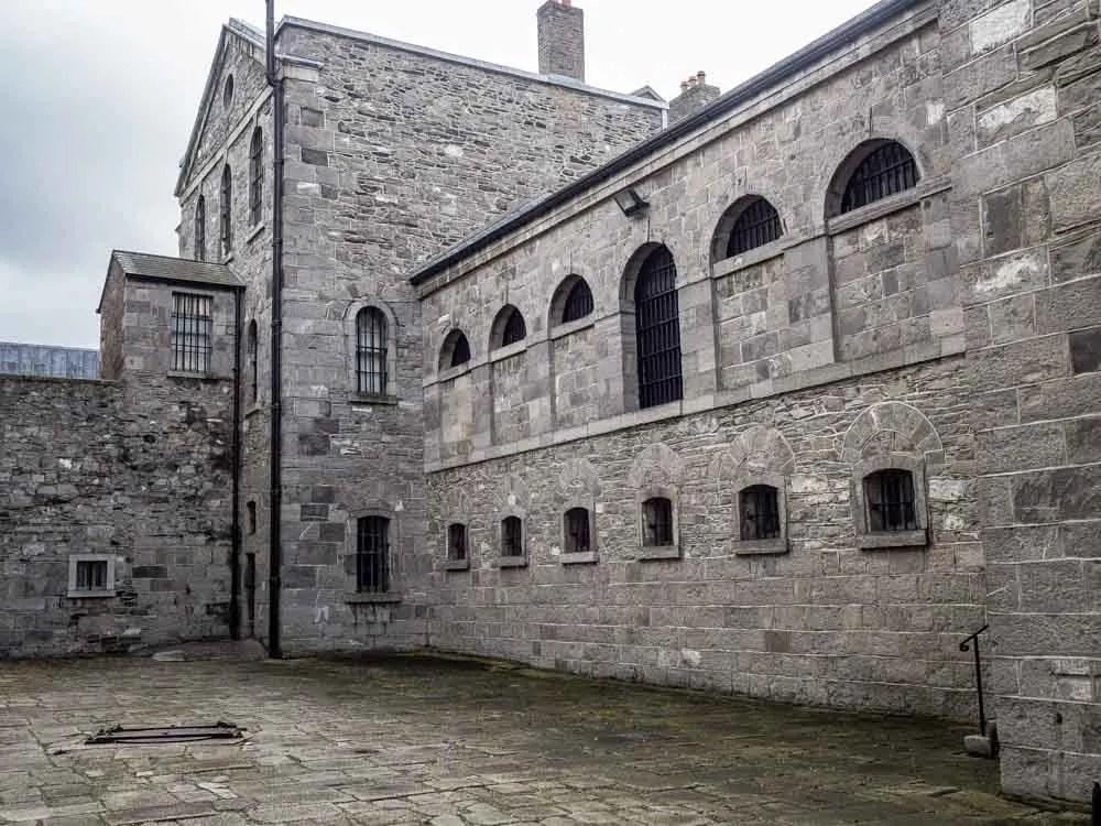 Dublin Killmainham Gaol Exterior
