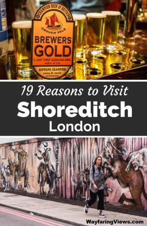 Shoreditch is London's coolest neighborhood. These 19 things to do in Shoreditch include street art, markets, pubs and street food. East End London | Boxpark | Brick Lane graffiti | murals | Hipster England