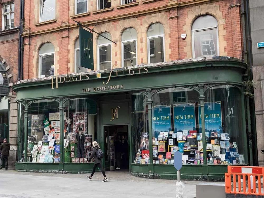 Hodges Figgis Dublin Bookshop