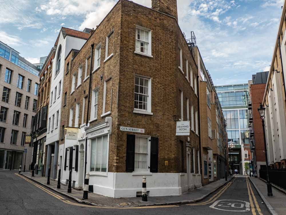 What to see in Shoreditch London: Gun Street