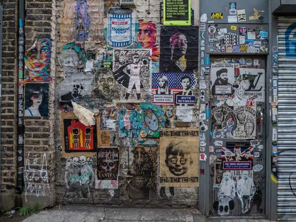 Brick Lane graffiti & stickers