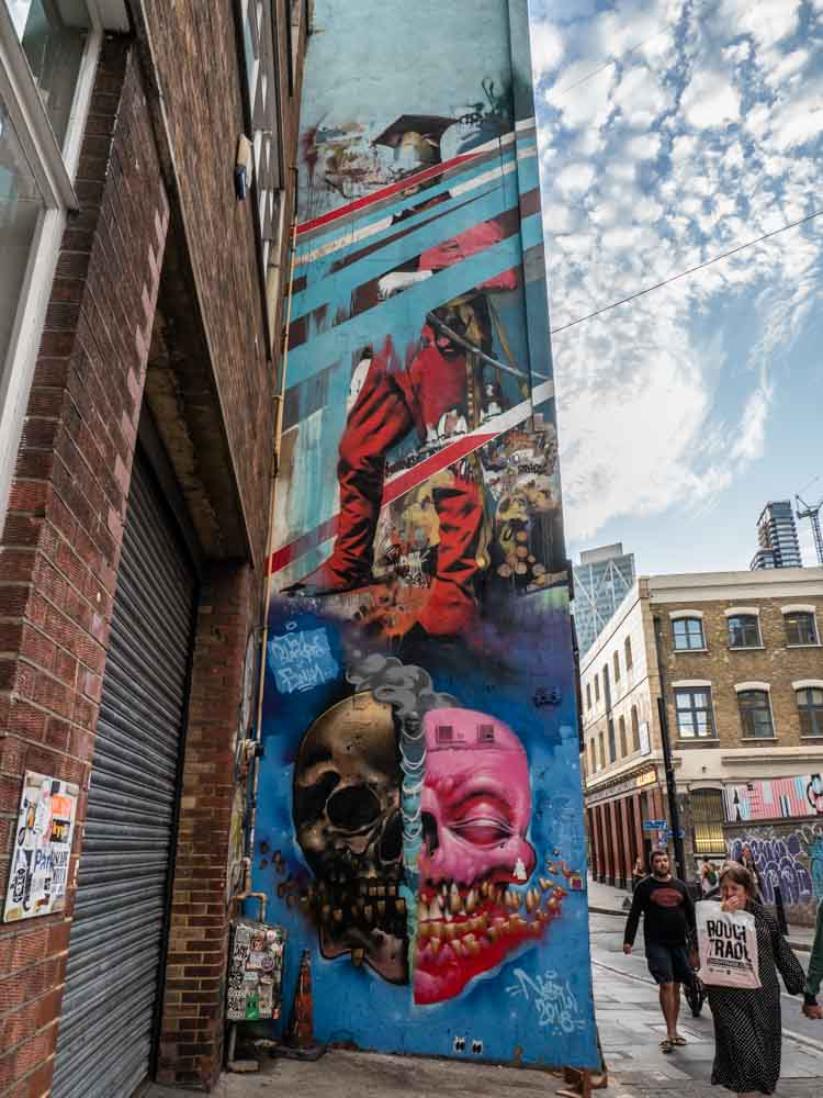 Shoreditch Street Art: See Shoreditch Street Art To Get Your London With An Edge