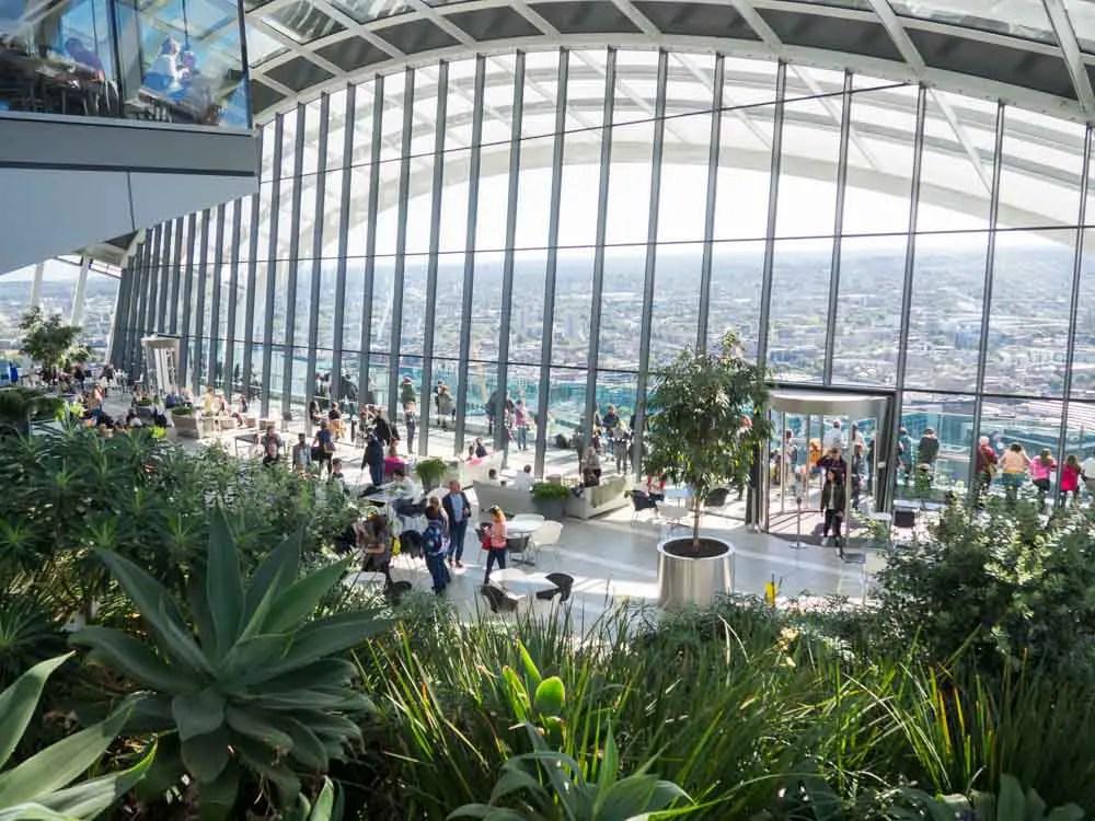 Sky Garden London Viewpoint