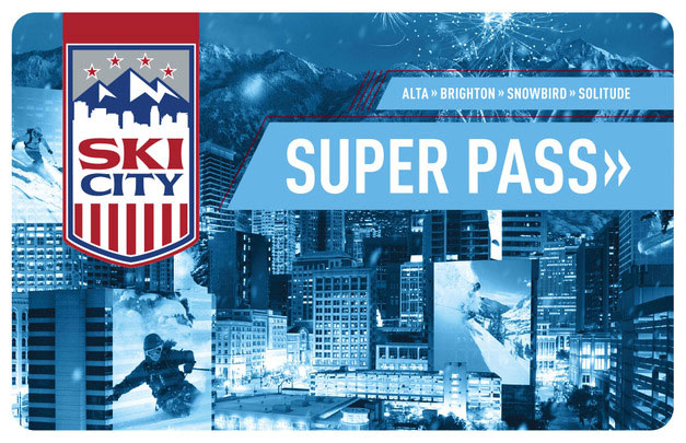 Ski City Super Pass Card- Utah Discount Ski tickets