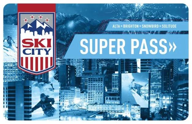 Ski City Super Pass Card- Utah Discount Ski tickets