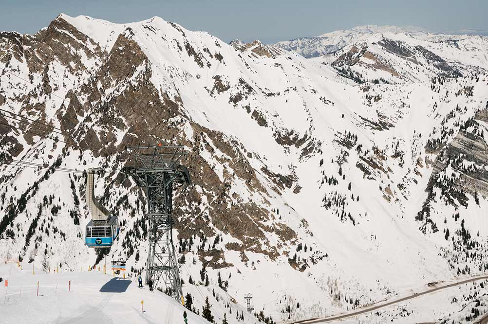 Salt Lake Ski Resorts: Snowbird Tram