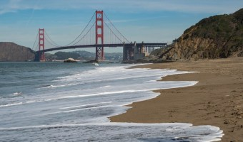 Best Golden Gate Bridge Viewpoints: Baker Beach