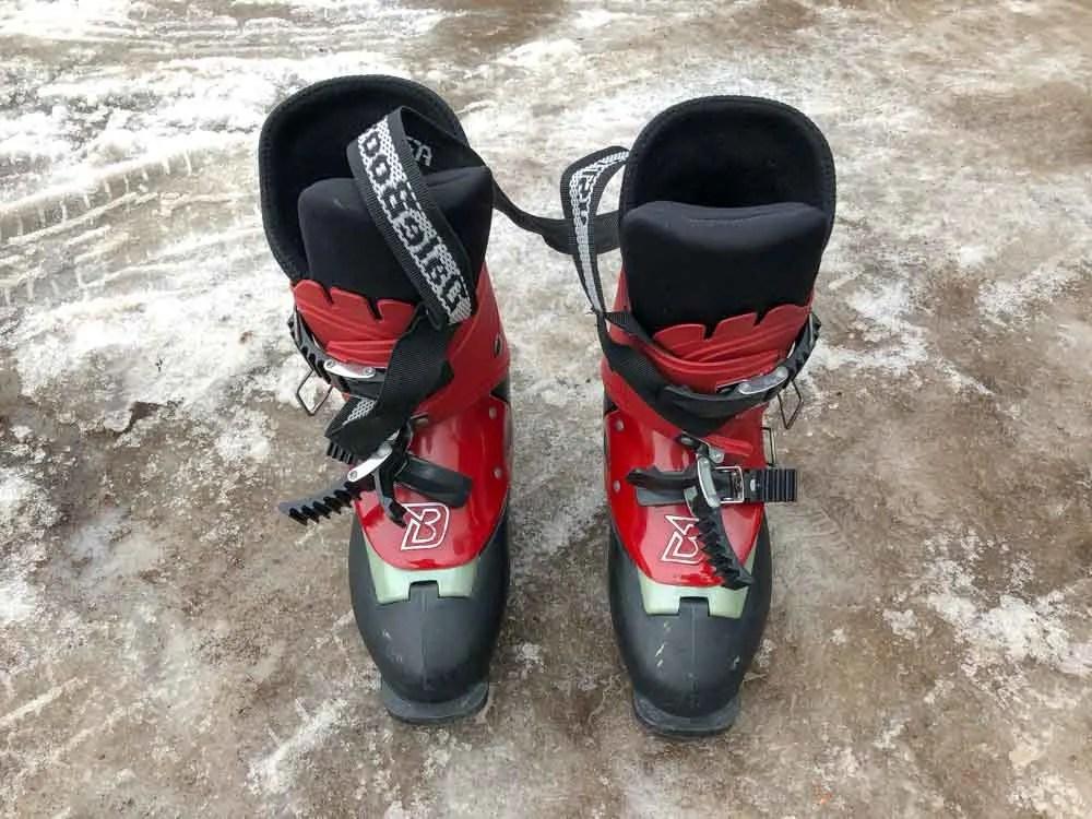 Ski trip packing essentials: ski boots