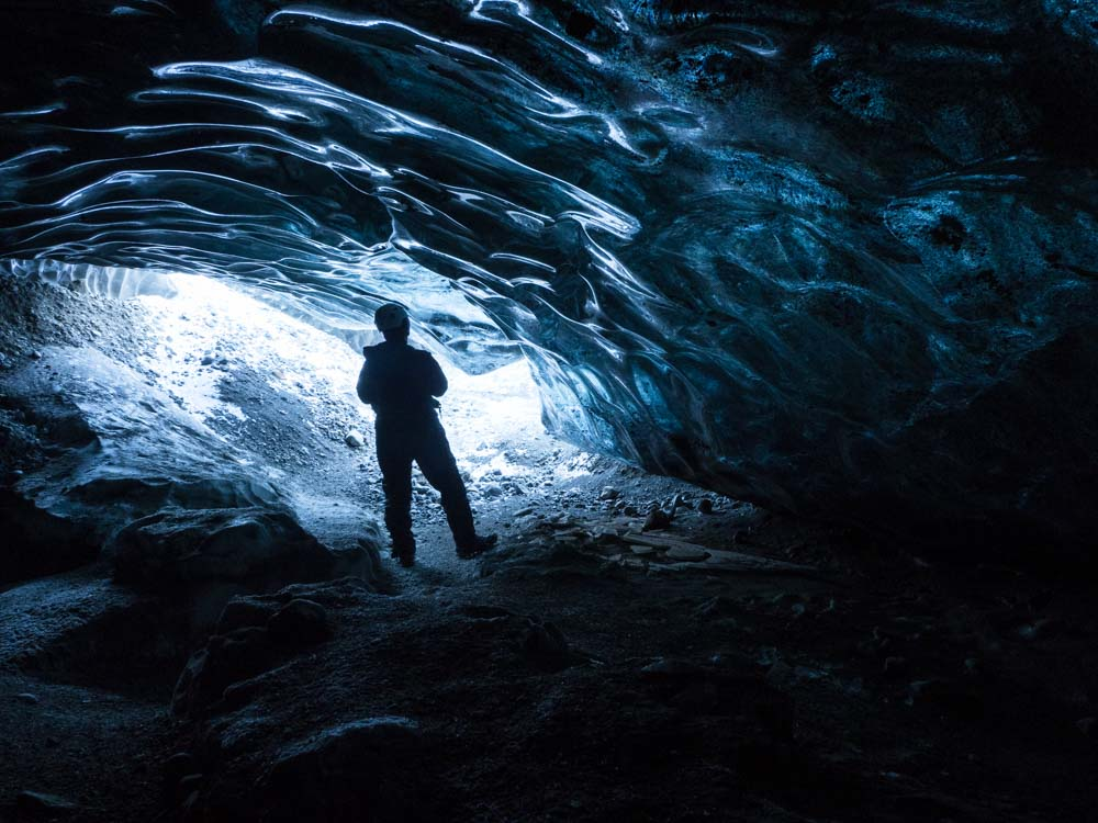 Iceland in the winter: Ice Cave