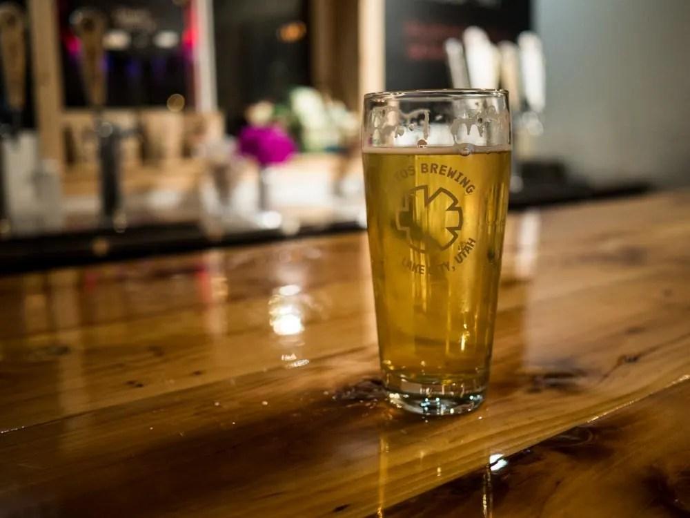 Kiitos Brewery in SLC Utah