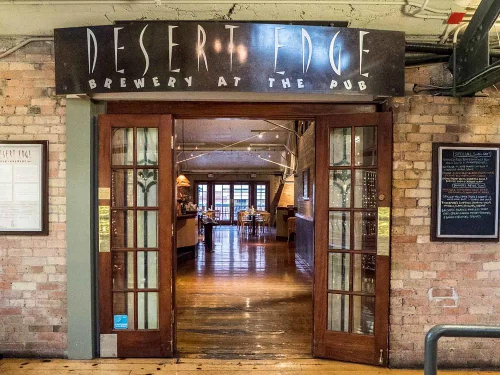 Desert Edge Brew pub in Salt Lake City